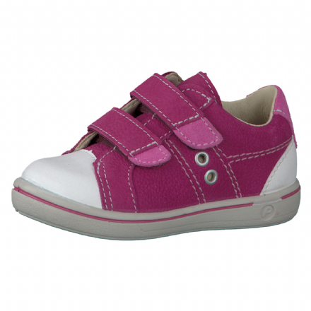 Ricosta NIPY Leather Velcro Shoes (Pop Pink)